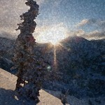 sunrise-upper-little-cottonwood-canyon-sponge