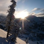 sunrise-upper-little-cottonwood-canyon
